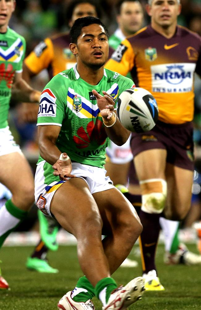 Anthony Milford in action.