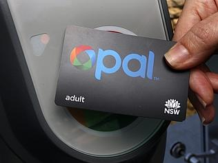 The new Opal transport card.