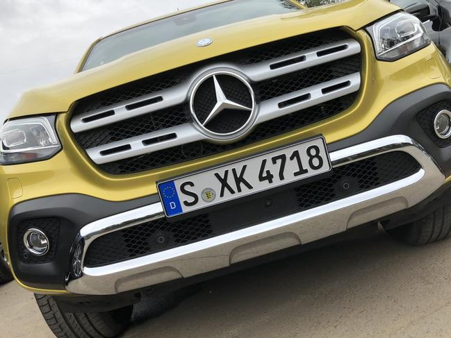 Mercedes-Benz X-Class ute (2017 model shown). Picture: Supplied.