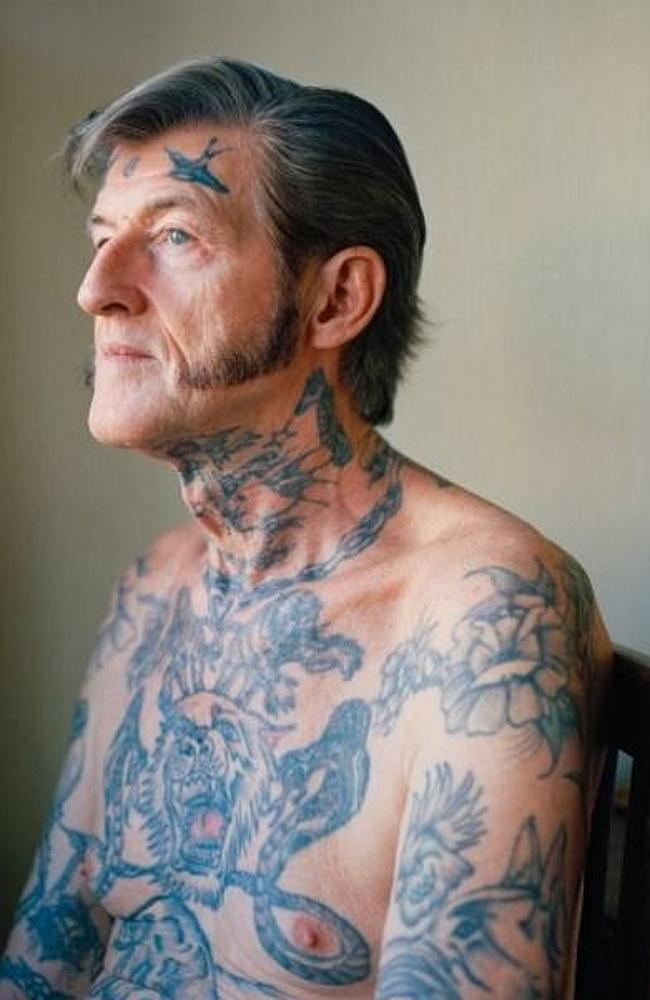Got a bird tatt to represent freedom? This is you at 60. Flickr / Carey Gough