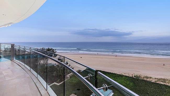 EXCLUSIVE VIEWS: Extensive beach views and staggering distance to the beach in this three bedroom apartment which takes up an entire floor in a complex of just 15 homes. Includes a private pool.