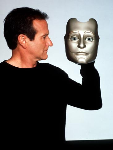 "1999: Actor Robin Williams, during making of 1999 film ""Bicentennial Man"". Williams/Actor P/R Picture: Supplied"