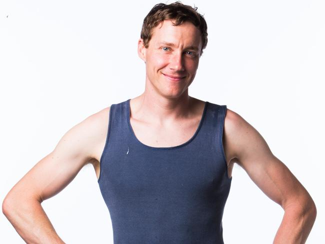 Ninja Warrior contestant Ben Cossey, 32, Physiotherapy student, NSW. Picture: Nine