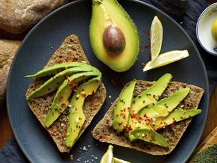 TASTE MATT PRESTON: WHAT TO EAT NOW ... JULY 14/15 Avocado on toast with lemon and salt. Picture: iStock