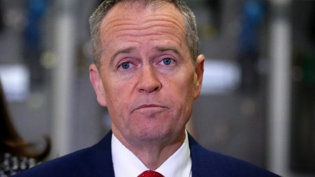Opposition leader Bill Shorten will call on the Turnbull Government to get on with introducing a clean energy target. Picture: Ray Strange