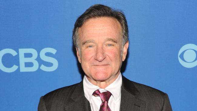 Robin Williams attends the CBS Upfronts in New York City in May last year. Photo: Ben Gabbe.