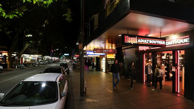 Darlinghurst Rd, Kings Cross, is struggling to keep its nightclub strip alive. The Premier says Sydney has more small bars than ever.
