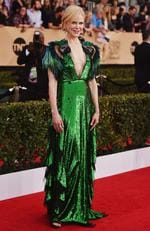 Nicole Kidman attends the 23rd Annual Screen Actors Guild Awards at The Shrine Expo Hall on January 29, 2017 in Los Angeles, California. Picture: Getty