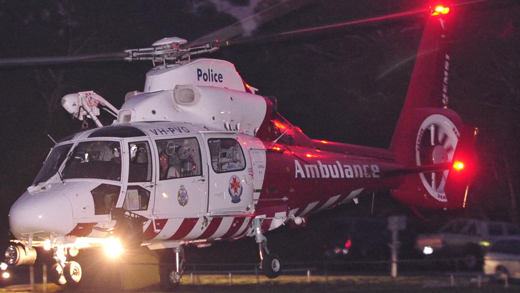 A teenager has been flown with critical injuries after falling at a Mornington Peninsula beach.
