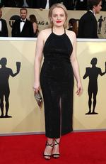 Actor Elisabeth Moss attends the 24th Annual Screen Actors Guild Awards at The Shrine Auditorium on January 21, 2018 in Los Angeles, California. Picture: Frederick M. Brown/Getty Images