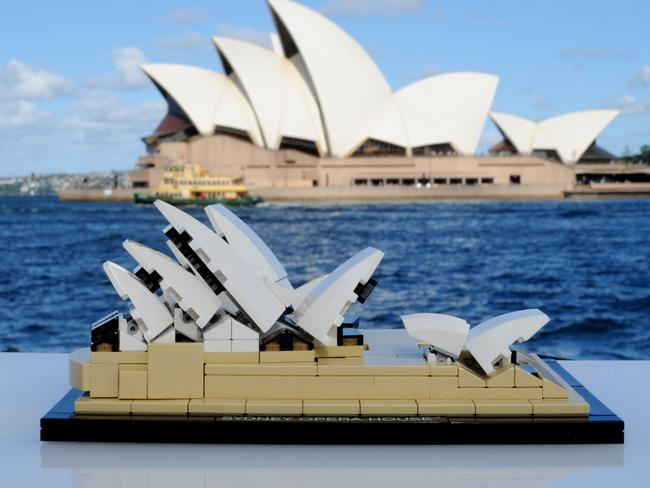 You can build the Sydney Opera House as part of Lego's Architecture line.