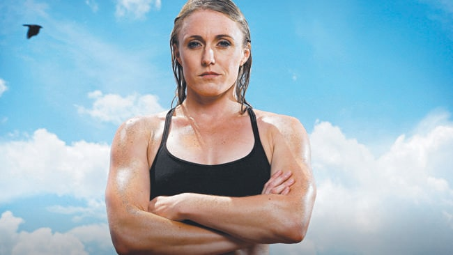 Australian Olympic Gold Medal winning Athlete Sally Pearson is pictured on the Gold Coast today for a Sunday Telegraph feature on female athletes.