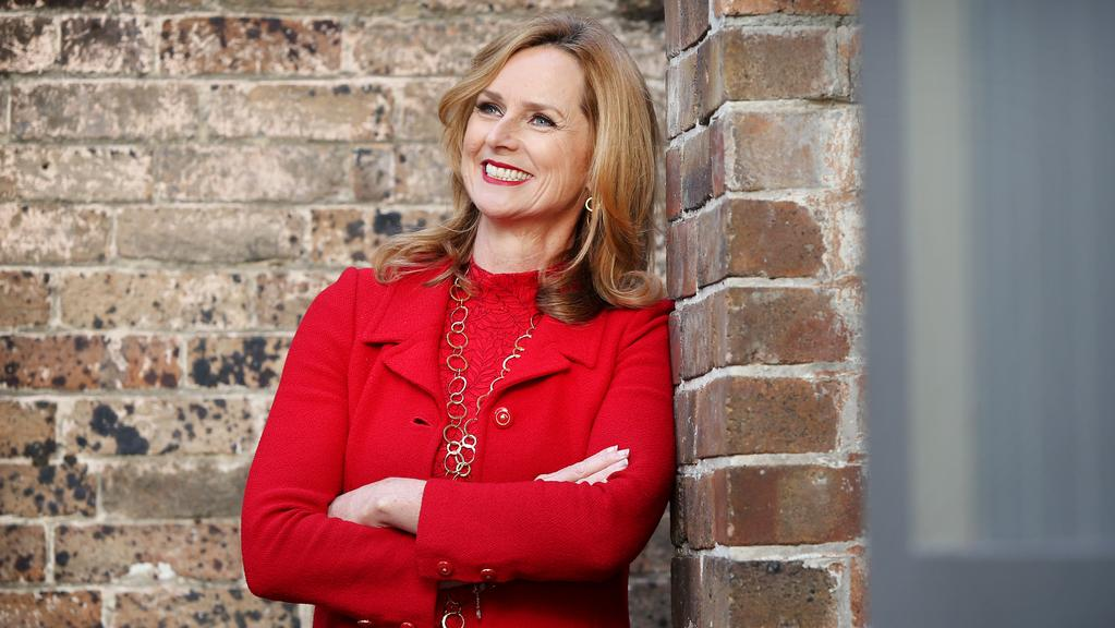 Shark Tank judge and RedBalloon founder Naomi Simson says persistence pays. Picture: Richard Dobson