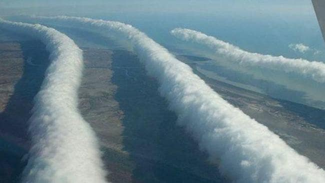 Morning Glory cloud over Northern Australia. Picture: Mick Petroff