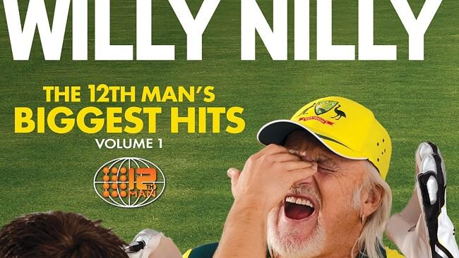 Billy Birmingham releases his first The 12th Man greatest hits in time for the Ashes. Picture: Supplied.