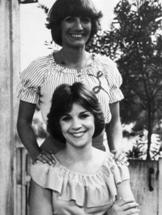 Cindy Williams of Laverne and Shirley fame with co-star Penny Marshall.