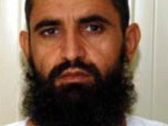 Out ... Abdul Waq- Hasiq, one of the Guantánamo Bay prisoners who was freed in exchange for US soldier Bowe Bergdahl.