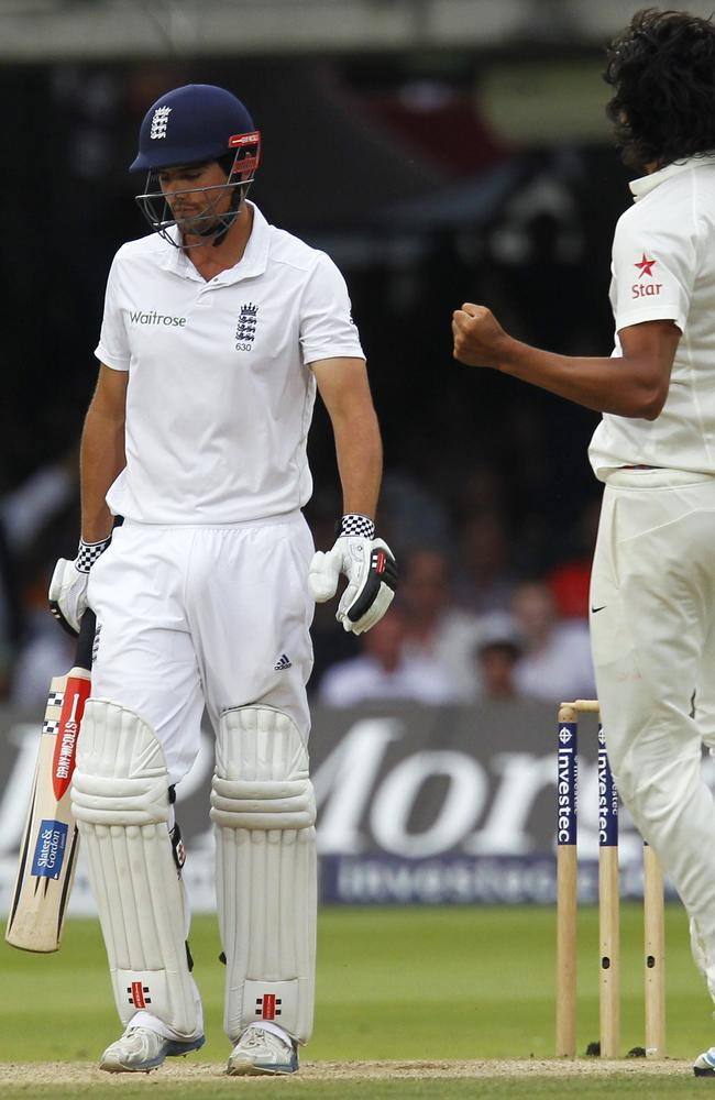 Bad Sharma - the England batting line-up had no answer to the Indian paceman.