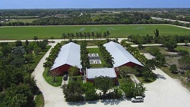 Tommy Lee Jones is selling this estate to spend more time at his polo ranch in Texas. Picture: Realtor.com.