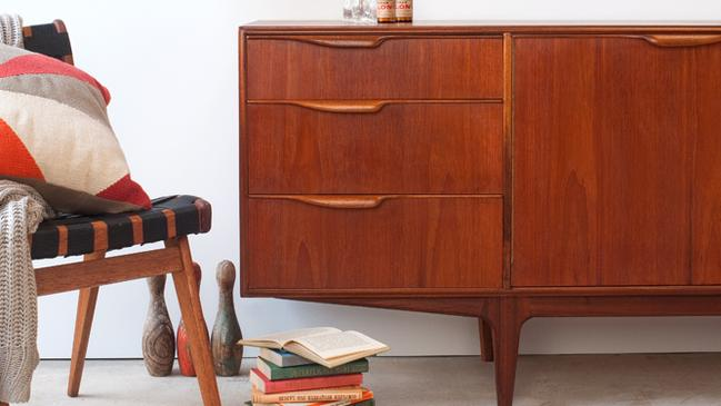 One man's trash is another man's treasure, and when it comes to retro furniture, there are a few decades of treasure to choose from. McIntosh teak sideboard from Retro Modern, www.retromodern.com.au.