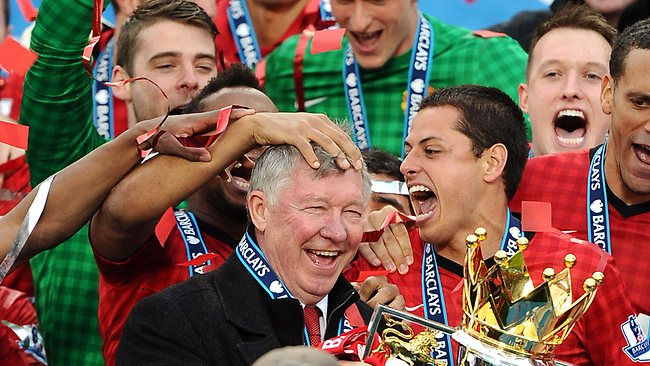 Sir Alex Ferguson went out on a high with Manchester United.