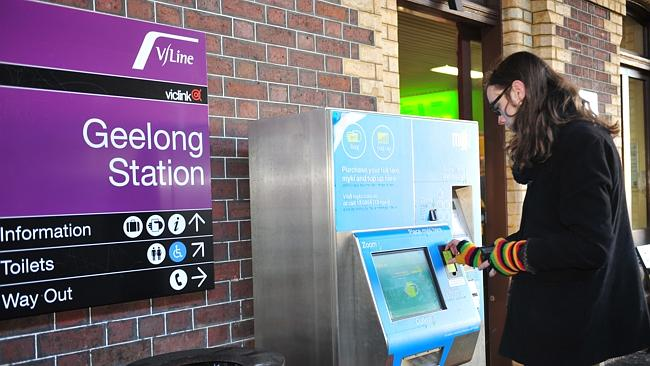 In Victoria, the rollout of Myki top-up machines encompasses both Melbourne and regional stations.