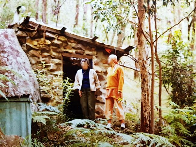 Life on the ashram was far from peaceful. Picture: Supplied