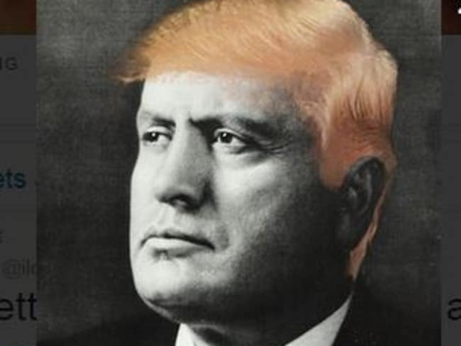 Tobias Stone says Donald Trump and the late Italian dictator Benito Mussolini have a lot in common.