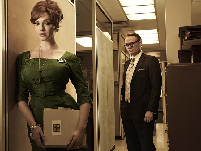 Christina Hendricks and Jared Harris star in hit AMC series, Mad Men.