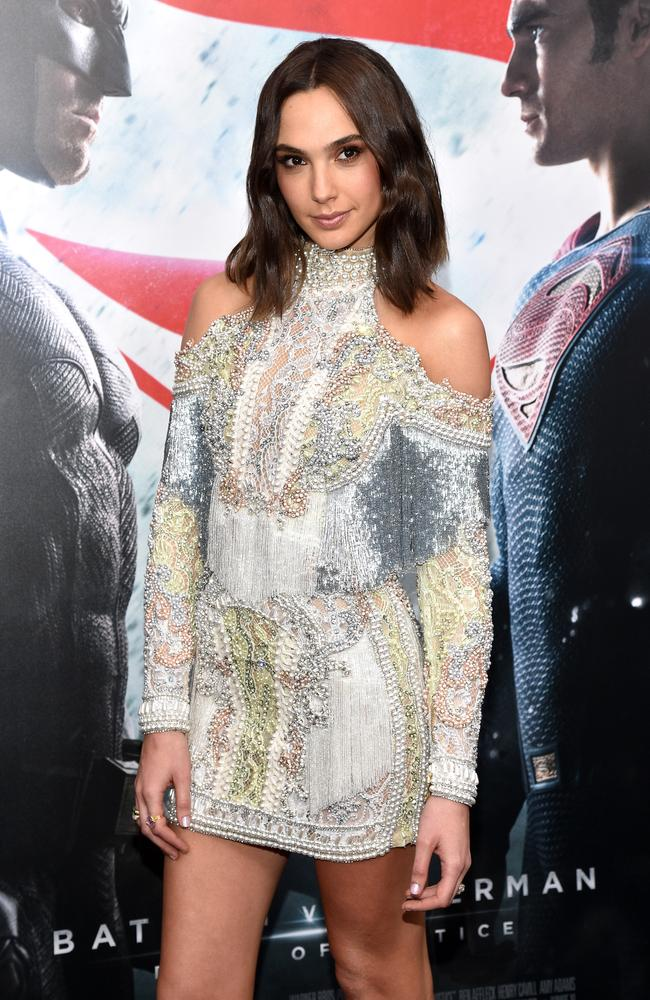 The super fit Gal Gadot spent time in the Israeli army. Picture: Getty / Bryan Bedder
