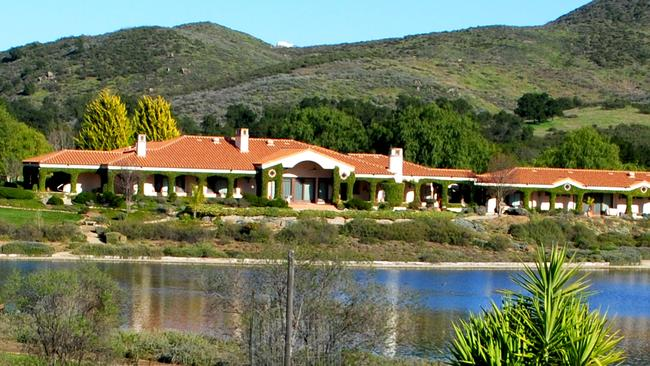 The sprawling Rancho Las Mananitas near Temecula, California. Picture: Christies International Real Estate.