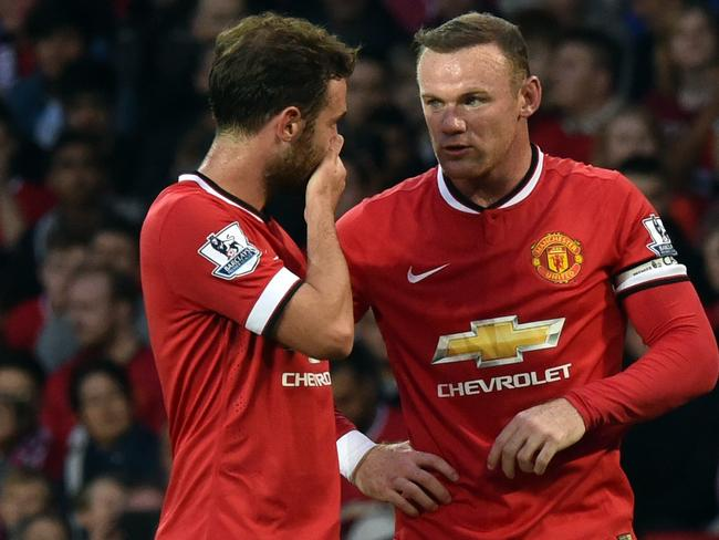 Wayne Rooney and Juan Mata will have vital roles to play for United.