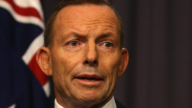 Gaffes ... Tony Abbott has raised eyebrows during his political career. Picture: News Corp Australia