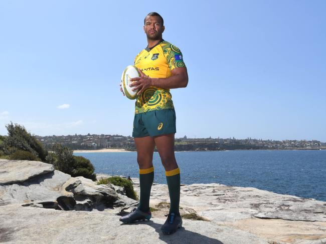 Kurtley Beale has been the Wallabies' standout. Picture: Simon Bullard
