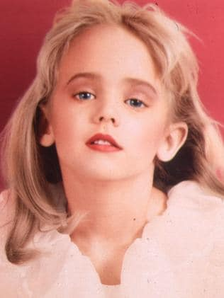 Child pageant queen JonBenet Ramsey was found dead in the basement of her Boulder, Colorado home in 1996. Picture: Splash News Australia