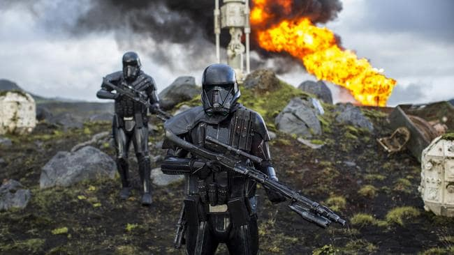 Death Troopers in Rogue One: A Star Wars Story. Picture: Lucasfilm Ltd.