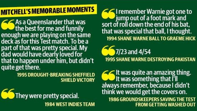 Brisbane Cricket Ground curator Kevin Mitchell Jr looks back at his career.