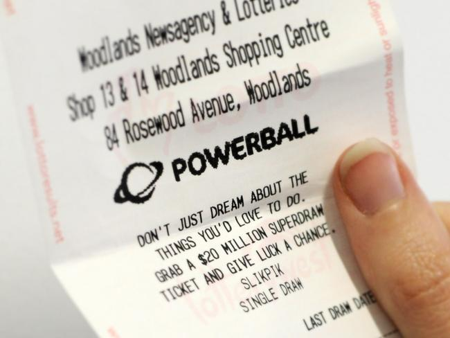 Powerball draw date in Melbourne