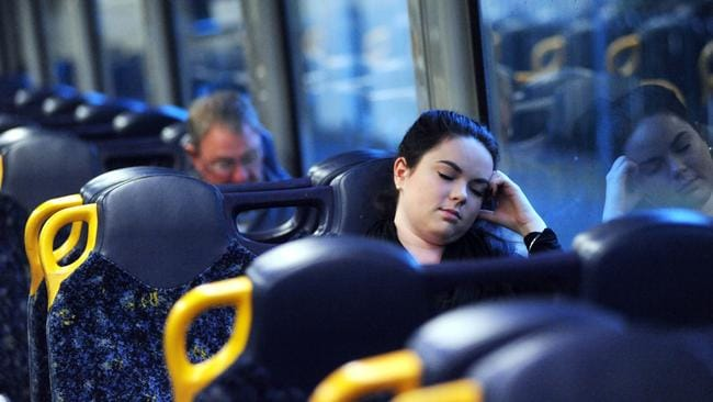 If you're used to catching Australia's trains, settle in and look forward to a good long sleep. Picture: Simon Bullard