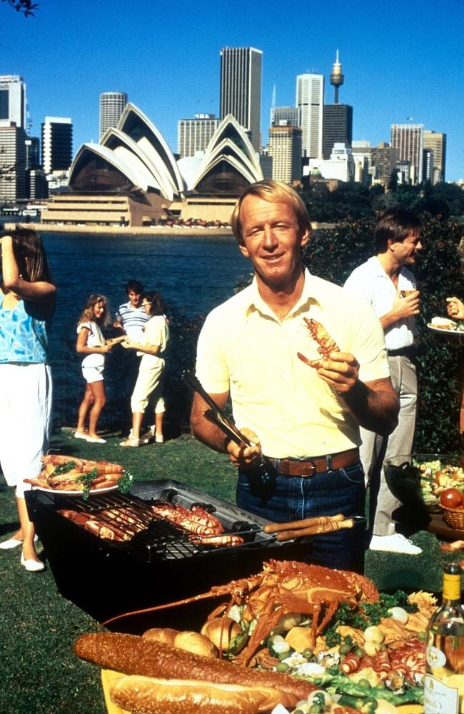 """""""I'll slip an extra shrimp on the barbie for you"""", made famous by Paul Hogan in a television advertisement."""