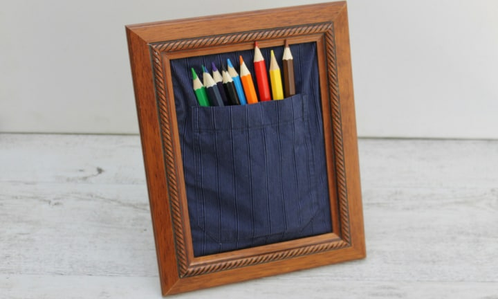 How to make an up-cyled pencil holder