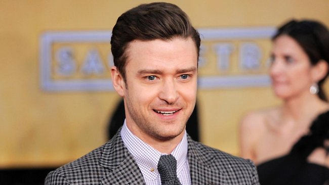 Actor-singer Justin Timberlake at the 19th Annual Screen Actors Guild Awards. He will be rocking his Suit & Tie album at the Grammys. Picture: AP