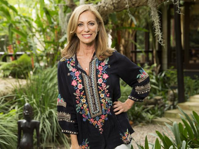 Kerry Armstrong's time in the jungle is over. Picture: Charlie Sperring