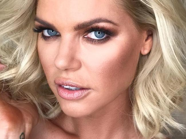 "Sophie Monk ... ""Big and Textured introducing our new #bachelorette @sophiemonk Congratulations!ALWAYS a laugh with you! Makeup @chantellebaker Hair by me @uvasalon  @elevenaustralia #logies2017"" Picture: @marieuva/Instagram"