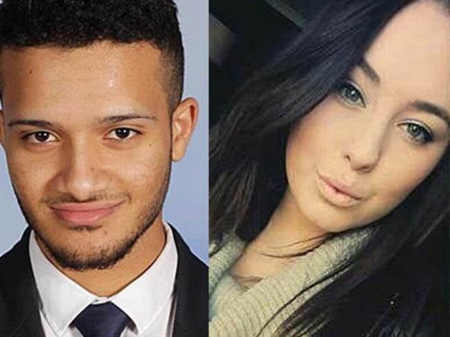 Omar Moujalled, 18, and Hope Carnevali, 20, are two of the eight victims of thunderstorm asthma in Melbourne.