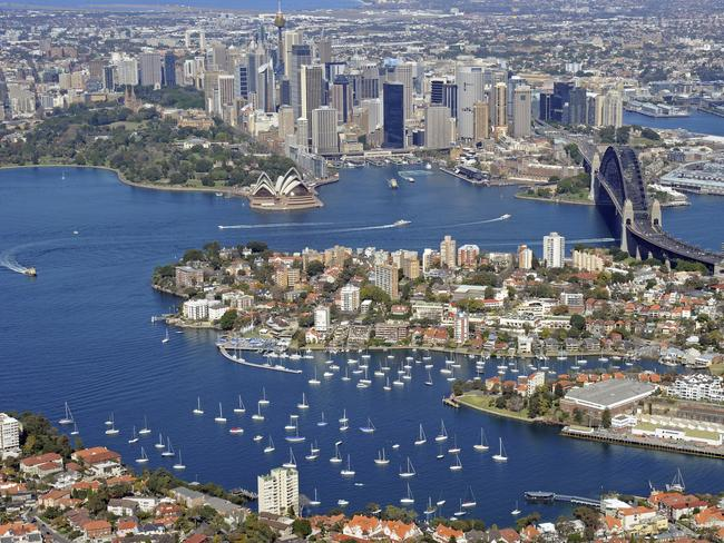 There's a lot to see at Sydney Harbour.