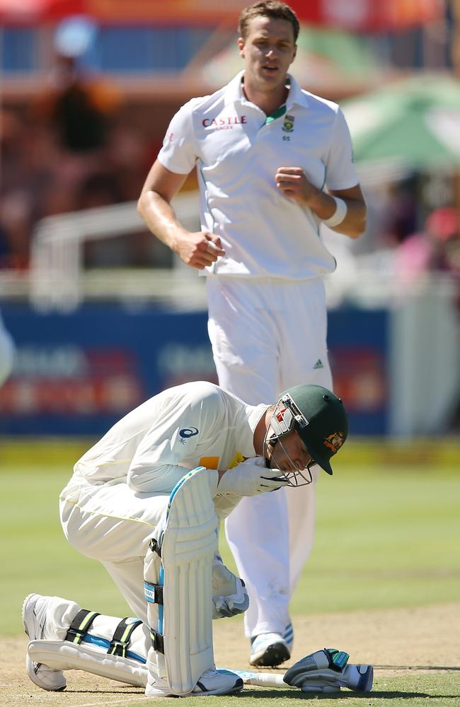 Morne Morkel left plenty of bruises on Michael Clarke during their last clash in Cape Town.