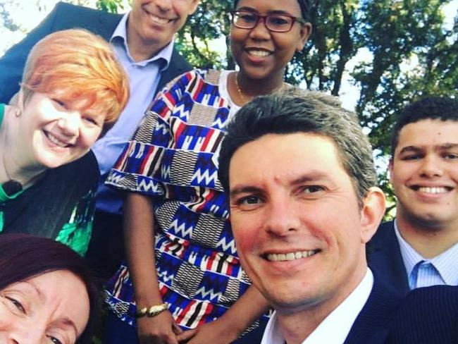 Jordon Steele-John says he is 'happy to let the party decide' if he'll replace Scott Ludlam.