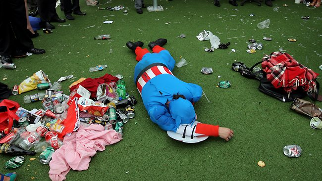 All too much for Captain America at the end of the day.