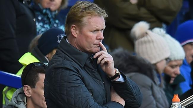Koeman's off-season spending spree didn't improve results on the field. Picture: AFP